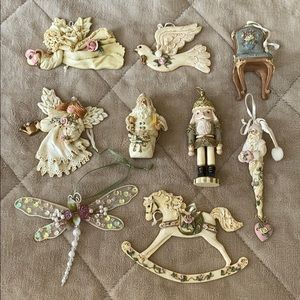 Victorian inspired ornaments